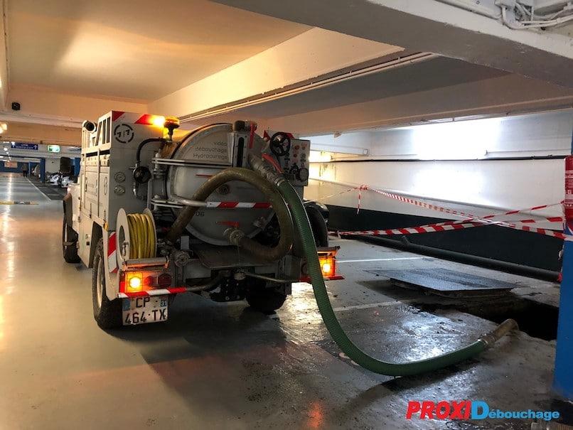 vidange de fosse septique camion proxi-débouchage